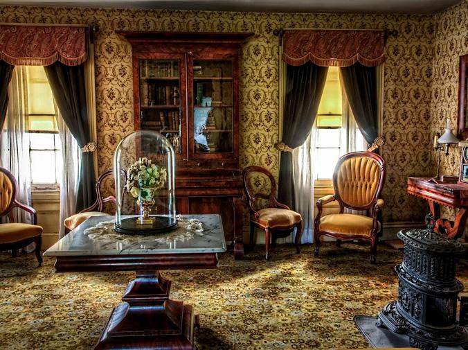 El encanto de los muebles restaurados